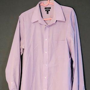 Men's Dress Shirt Buttoned